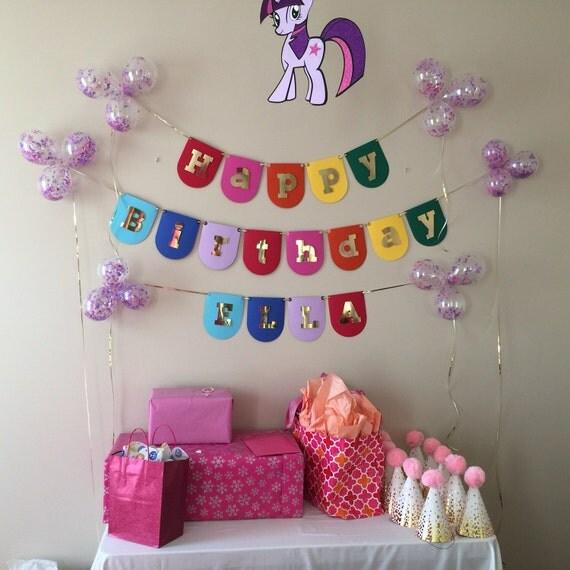 Rainbow banner/ Birthday Banner