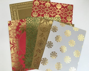 Anna Griffin Holiday Card Stock Set 4