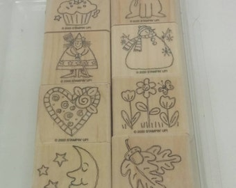 Stampin Up Just For Fun Stamp Set (retired)