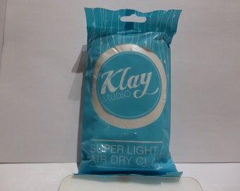 7 Colors Klay Studio Super Light Weight Air Dry Clay (50g)