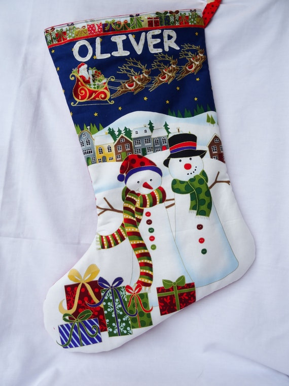 Personalised Christmas Stocking Kids Christmas Stocking