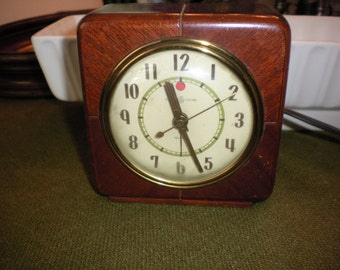 Genral Electric Wood Cased Alarm Clock