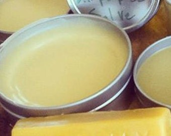 All purpose HEALING Salve *Bees Knees Arnica Salve with Calendula and Cacao Butter + essential oils