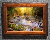 October Light in the Smoky Mountains Framed Fine Art Picture from William Britten