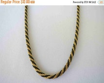 20% OFF TRIFARI Gold and Black Necklace