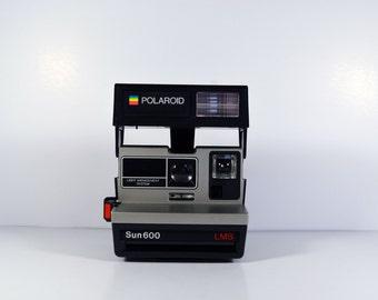 Vintage Polaroid Sun 600 LMS Camera Instant Photography