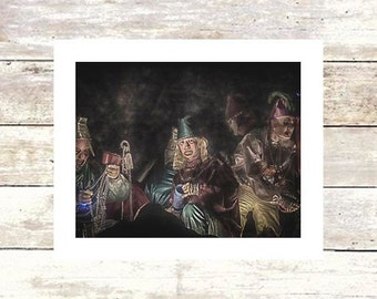 MYSTIC-  Krewe on Lundi Gras New Orleans-Fine Art Photograph-Limited Edition of 250