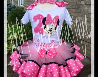 Mini mouse  tutu set