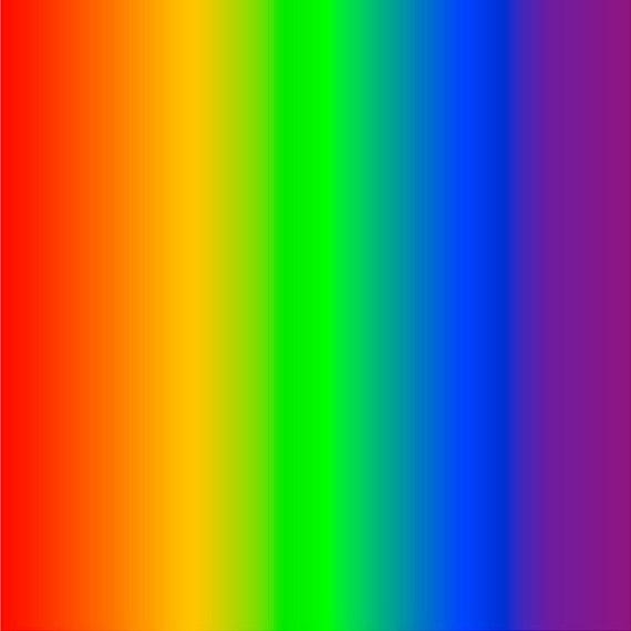 Rainbow Ombre Print Heat Transfer Or Adhesive Vinyl Sheet