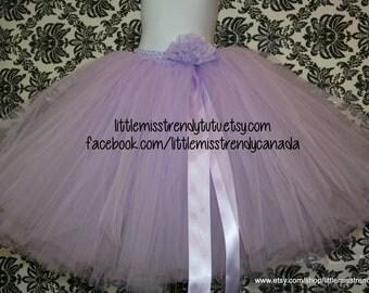 Lilac Tutu skirt, Long Lilac Light Purple Tutu, Long Birthday Tutu, Girls long tutu skirt, Tutu Skirt, Long Tutu, Custom Long Tutu Skirt