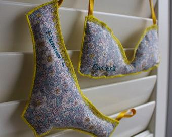 Personalised Lavender Underwear Bags