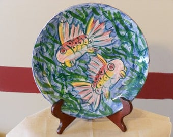 Repurposed Frankoma Art Plate