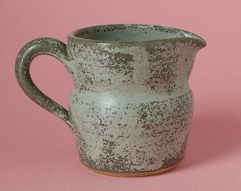 Derry Pottery Cream Jug. Irish Studio Pottery And Ceramics - County Londonderry Ireland - Circa 1970s - 1980s.