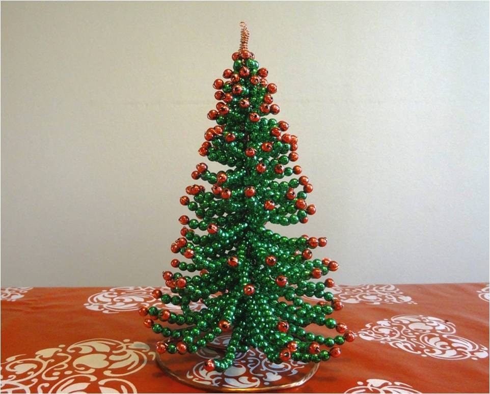 Sparkling Christmas Tree Tutorial Beading Pattern Christmas