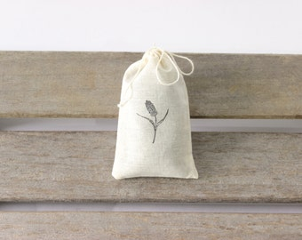 Small Bag of Lavender Buds - Lavender for crafts or as lavender sachets to freshen your closets or dresser drawers.  Dried Lavender Flowers