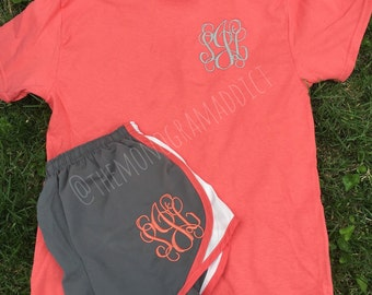 Monogram Outfit -- Includes Shirt & Shorts