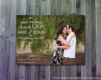 Lovely Save the Date (SD6)