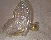 Vintage Avon Iridescent Butterfly Cologne Bottle