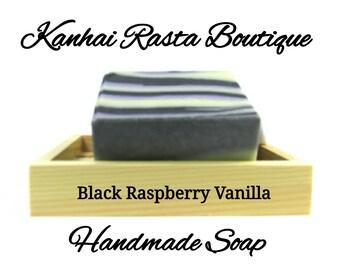 Black Raspberry Vanilla Handmade Soap | Bar Soap