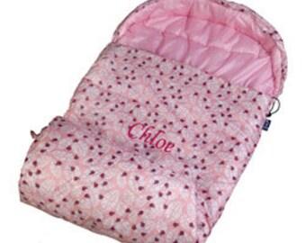 Personalized Lady Bug Pink Stay Warm Sleeping Bag