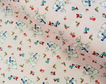 Pixie Noel - Pixie Bunnies(Pink) - Tasha Noel - Riley Blake Designs