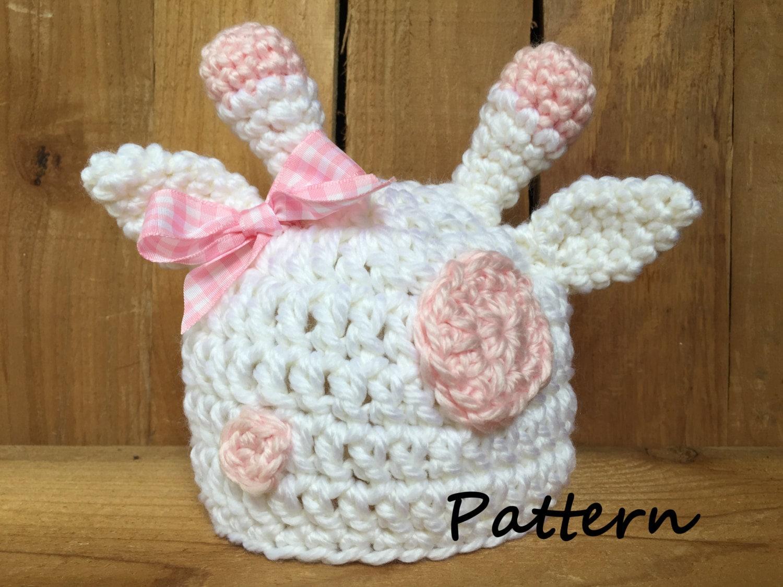 PDF crochet giraffe hat pattern newborn pattern baby