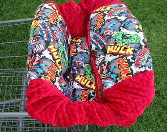 Shopping Cart Cover- Super Hero