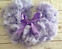 Lavender Pettiskirt, Tutu, Baby skirt, Purple Tutu, Smash Cake Outfit, Girl Birthday, Photo Prop