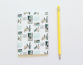 A6 Notebook - Suburban Streets