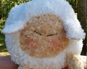 Squishy Round Sheep Plush