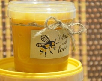 Raw Wild Honey Flow 2016 Natural Organic Farm