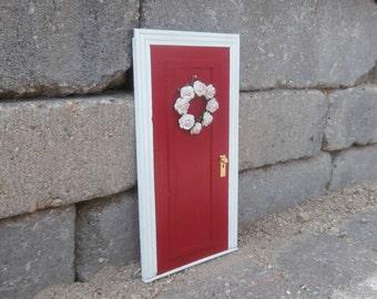 Cherry Red Fairy Door