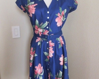 "Vintage 1980's 'Carol Anderson' Dress MADE IN USA - Chest 40"" - Lovely!!"