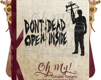 Walking Dead Inspired Daryl Dixon Word Art Svg Dxf Eps Png Cutting Files