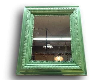 Antique Mirror - Vintage Mirror - Painted Mirror