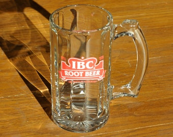 IBC Root Beer Glass Beverage Mug - Root Beer Float