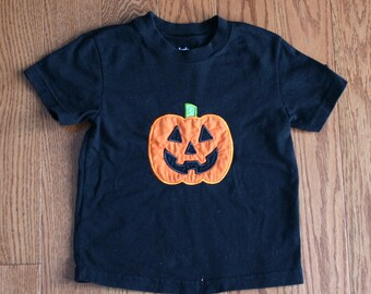 Gently Used Jack 'O Lantern Black Tshirt 24M for Girl or Boy