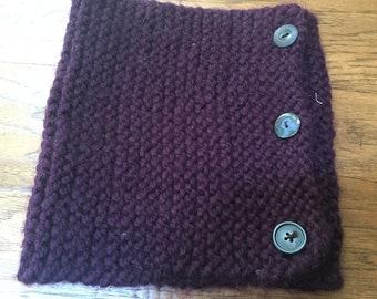 simple stitch cowl