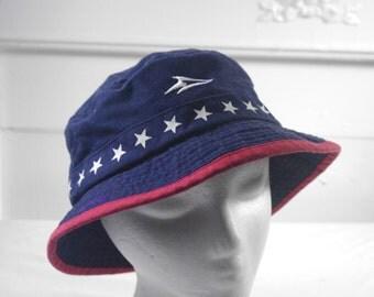 Vintage sea world bucket hat
