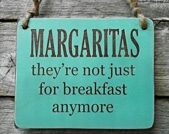 Margarita Sign, Margaritas, Drinking Sign, Bar Sign, Bar Decor, Hanging Sign, Tequila Sign, Drinking Decor, Jimmy Buffet, Island Sign
