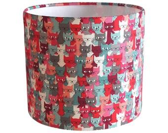 Cat lampshade  UK/EU/US pendant (ceiling) or table lamp fitting
