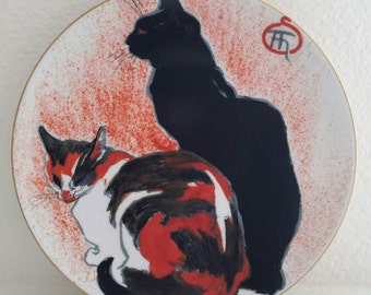 CHATS Plate by Steinlen Museum of Fine Arts Boston
