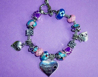 You Had Me at Woof ~ Pand*ra Style Charm Bracelet