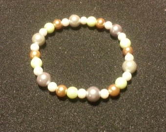Multi Color glass pearl beads
