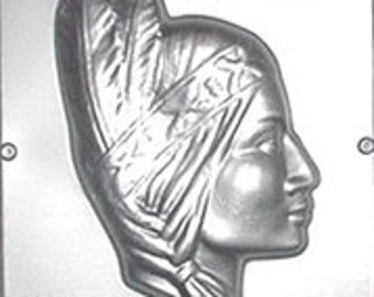 Indian Princess Chocolate Candy Mold 522