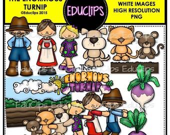 The Enormous Turnip Clip Art Bundle