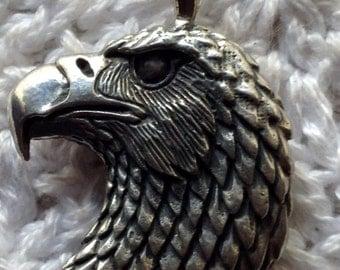 3D casted Eagle Head Pendant