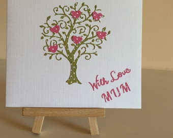 Quirky Mothers Day card / Birthday card