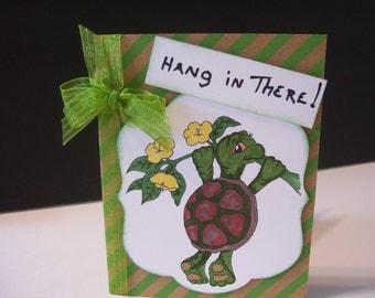 Turtle Encouragement Card