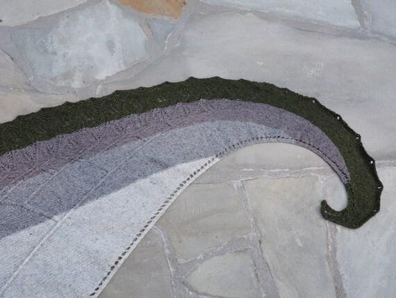 Knitting Retreats In North Carolina : Shawl knitting pattern sacred geometry from